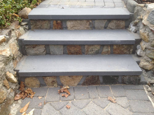 porches steps stone
